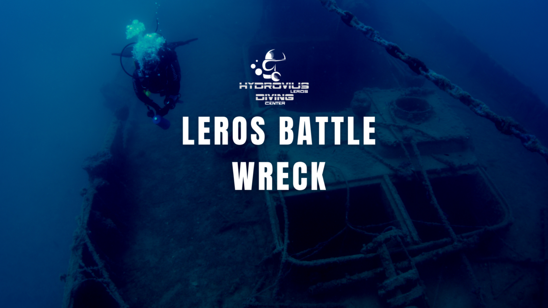 Leros Battle Wreck – ANTI SUBMARINE NET TENDING VESSEL